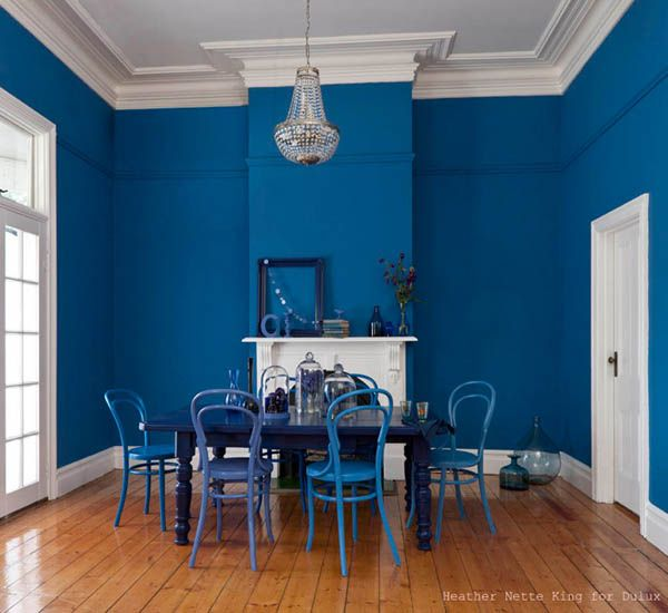 blue interior paint ideas