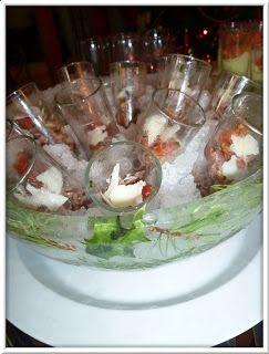 Verrines de boeuf aux tomates séchées et pignons de pin
