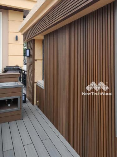 European Style Composite Siding Wall Cladding Newtechwood