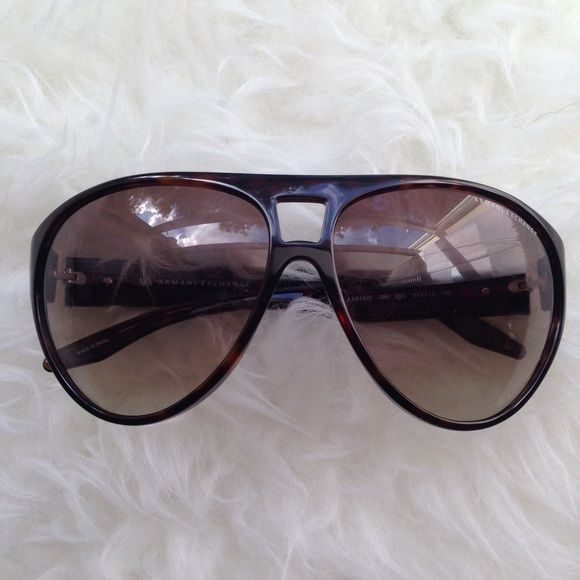 Armani Exchange Tortiseshell Sunglasses Discounted Bundles ▪️Please use the offer feature  ▪️Ships within 24 hours ✈️ ▪️No tradesNo Paypal ▪️ Love the item but not the price?  Make an offer!  ▪️Questions?  Don't be shy!  Feel free to ask  ▪️Condition - NWOT ▪️Size - one size ▪️Description - Never had a chance to wear these.  A couple of very tiny scratches on the lens but it is barely noticeable.I do not model eyewear Armani Exchange Accessories Sunglasses