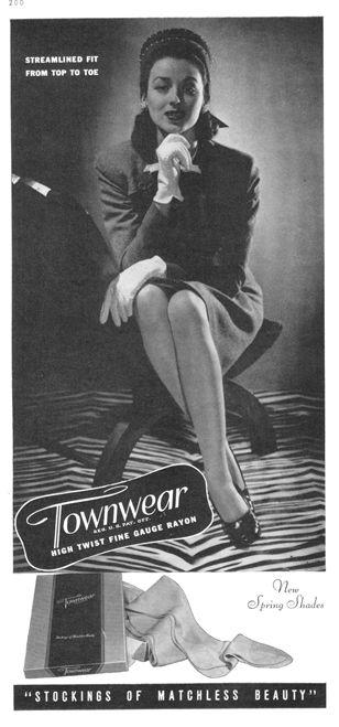 Pantyhose ads magazine
