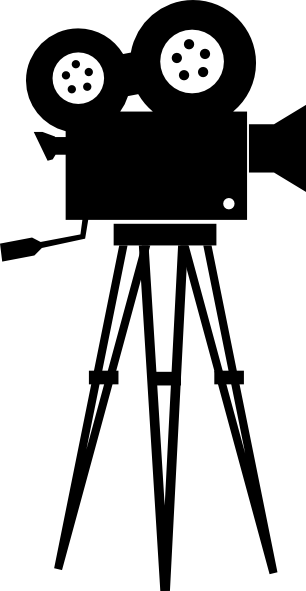 Lidjlmedt Png 306 591 Camera Clip Art Camera Silhouette Movie Camera