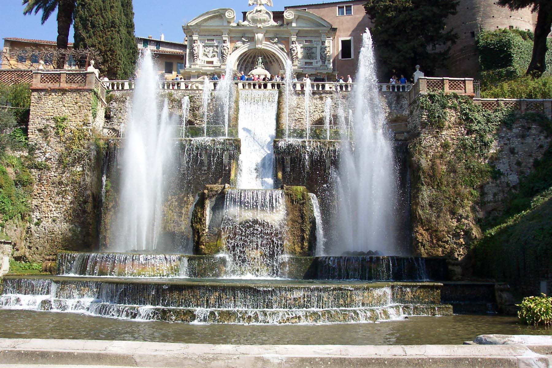 Tivoli Gardens Rome Pictures The Fountain Of Neptune, Villa D'este | Fountians In Italy