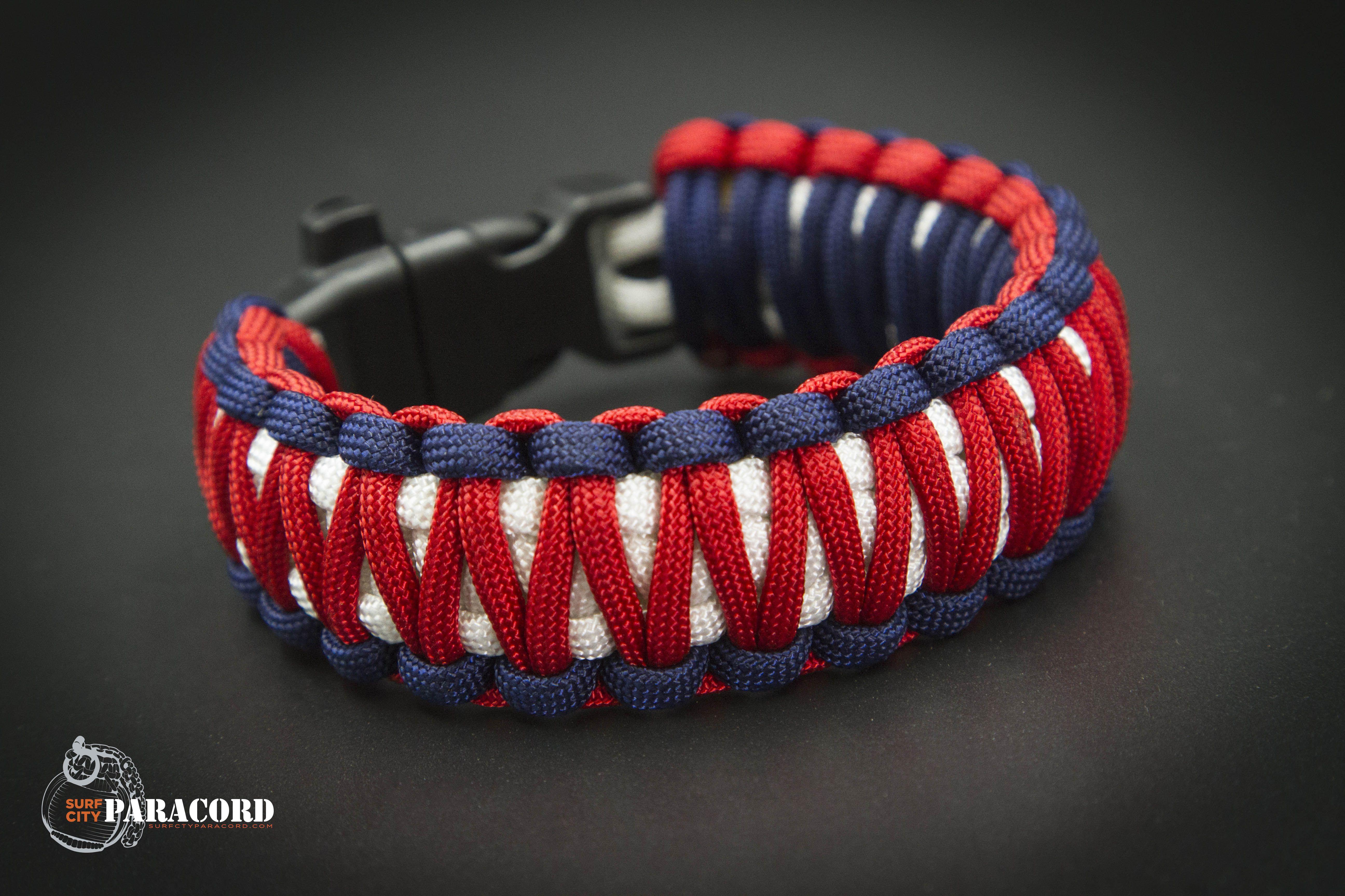 550 Paracord Survival Bracelet Cobra White//Purple Camo Camping Military Tactical