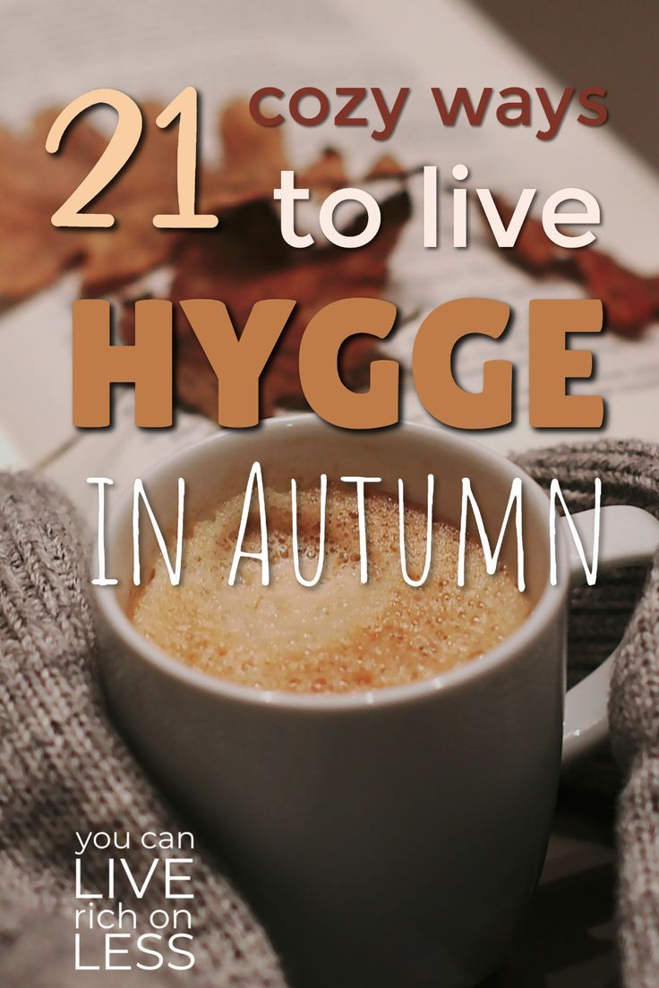 Fall or Autumn is the perfect time for hygge happiness! Hot drinks, thick socks, fireplaces, candles, and snuggling with your honey under your favorite blankie. #hygge #hyggehome #autumn #cozy
