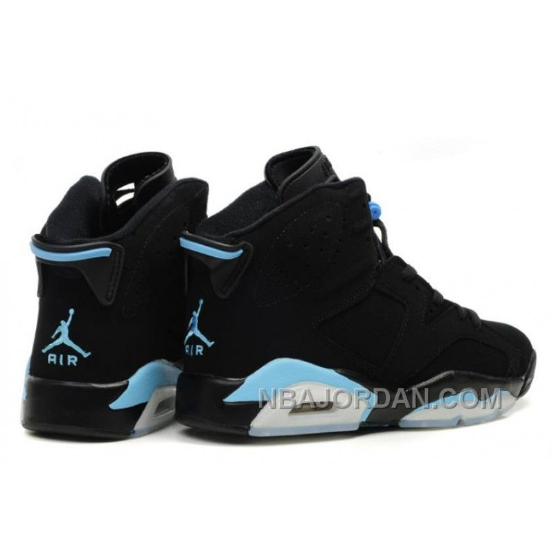 Air Jordan 6 VI Retro Baskets Basses Noir Bleu Super Deals