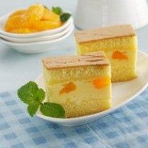 Puding Cake Lapis Jeruk Sajian Sedap Resep Makanan Resep Kue Resep