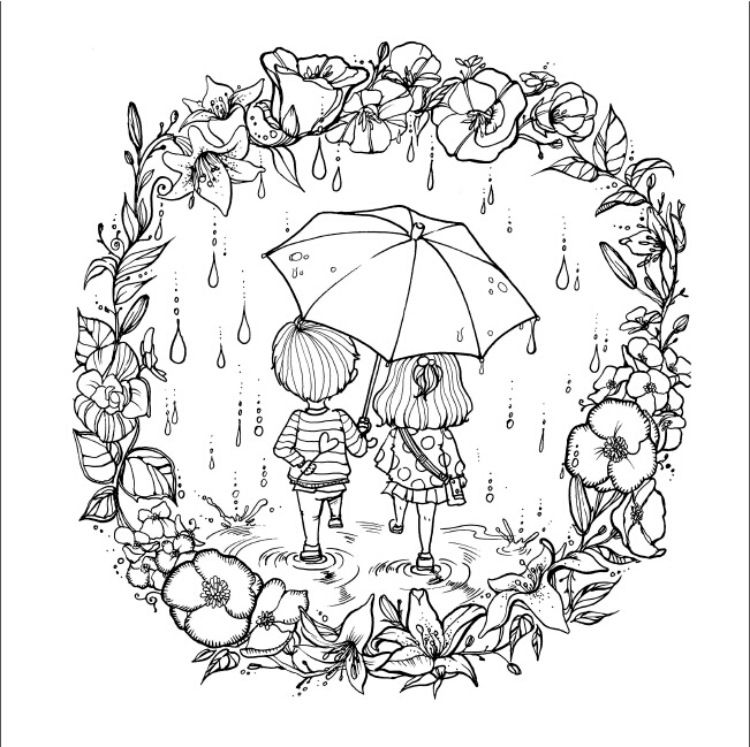 Love dream colouring book Secret Garden series libro colorear livre ...