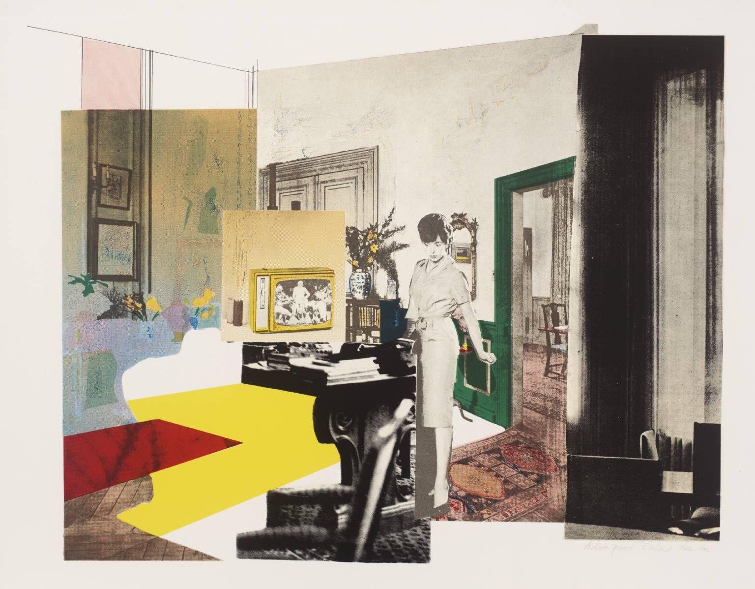 98507e135448a Richard Hamilton 'Interior', 1964–5 © The estate of Richard Hamilton ...