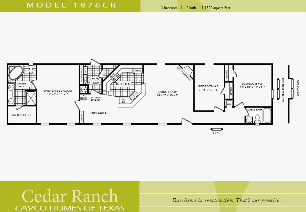 60 Best Of Of Single Wide Mobile Home Floor Plans 2