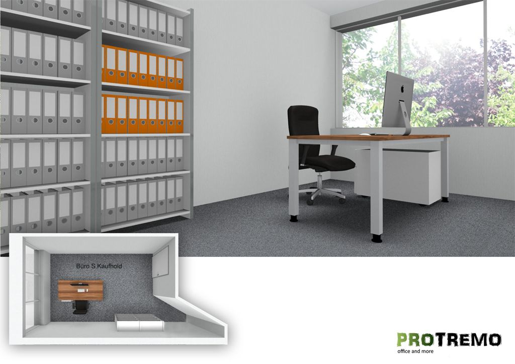 Büroplanung Büroraumplanung Büromöbel PROTREMO