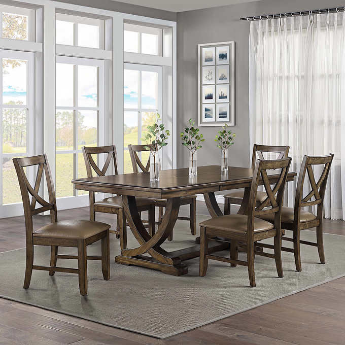 Lakemont 7piece Dining Set in 2020 Dining room