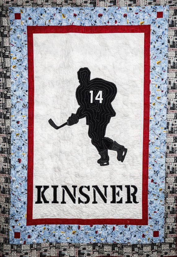 Custom sports quilts make great gifts for your sports enthusiast ... : customized quilts - Adamdwight.com