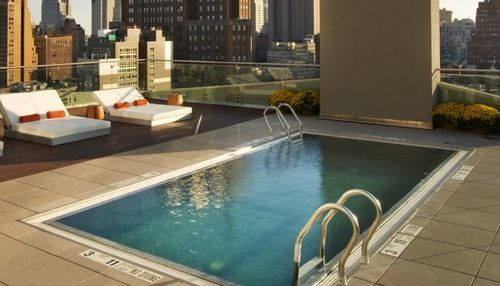 16 Of The Coolest Hotel Pools In Nyc