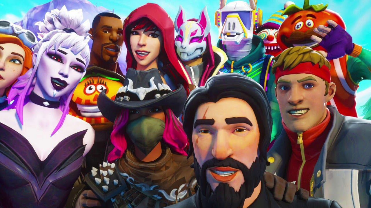 Free Download Fortnite Skins Hd Wallpaper With Images Epic