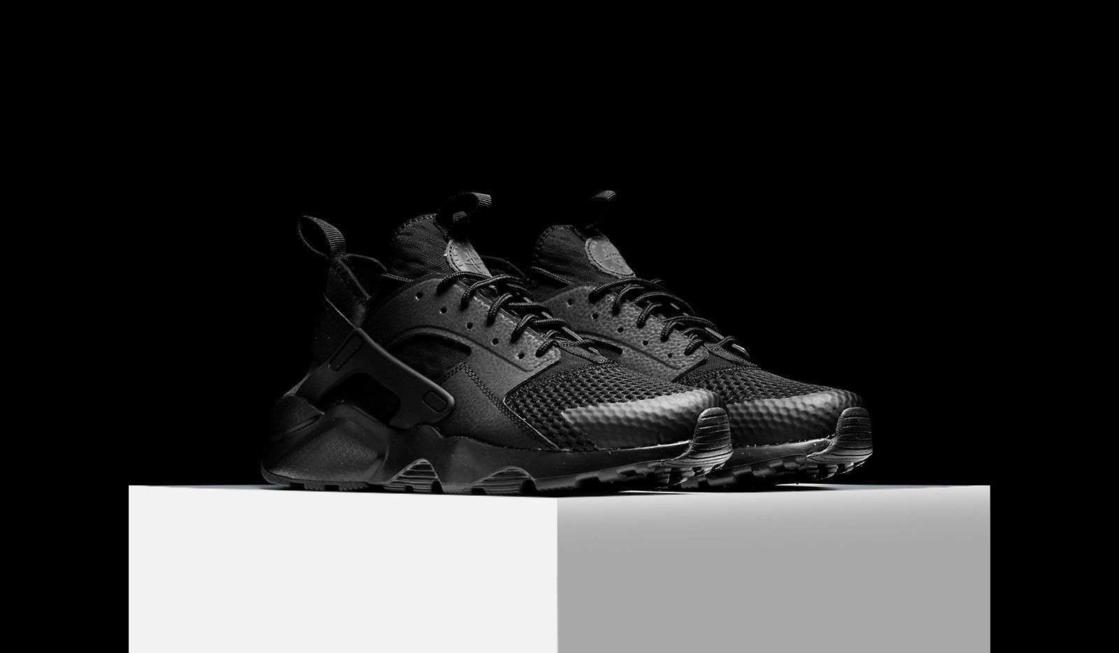 Huarache Ultra Breathe Triple Black