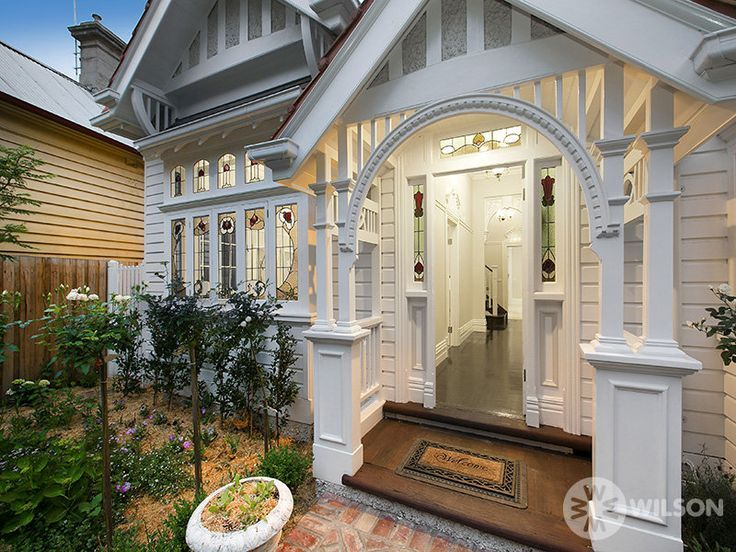 Image Result For Open Porch On Double Fronted Edwardian