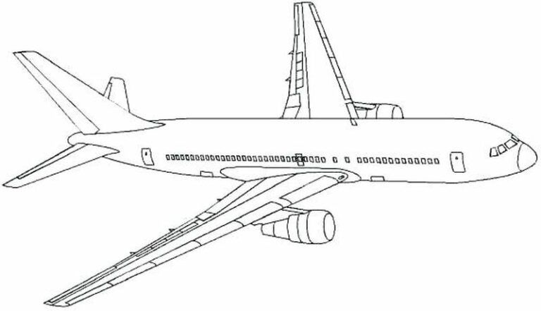 Free Airplane Coloring Pages Printable Printable Coloring Pages To Print Airplane Coloring Pages Coloring Pages Coloring Pages For Boys