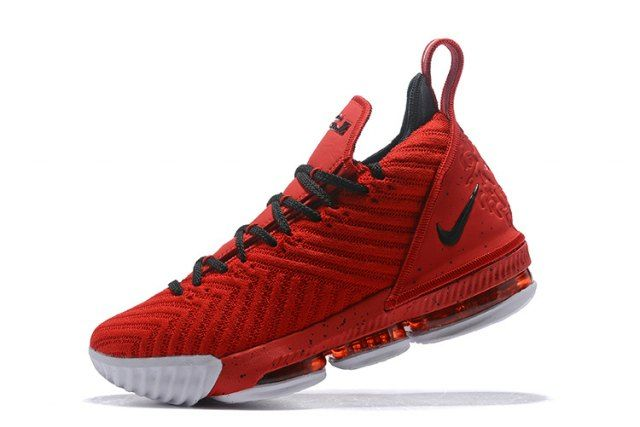 5a6b3206d62b Excitement Nike LeBron 16 Red Black Men s Basketball Shoes James Trainers  Lebron 16