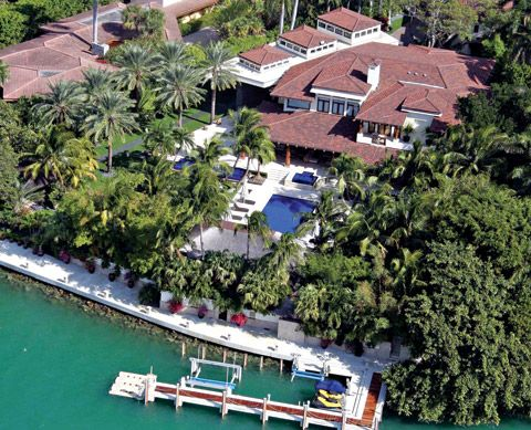 Sean combs star island miami beach florida south for Celebrity homes in florida