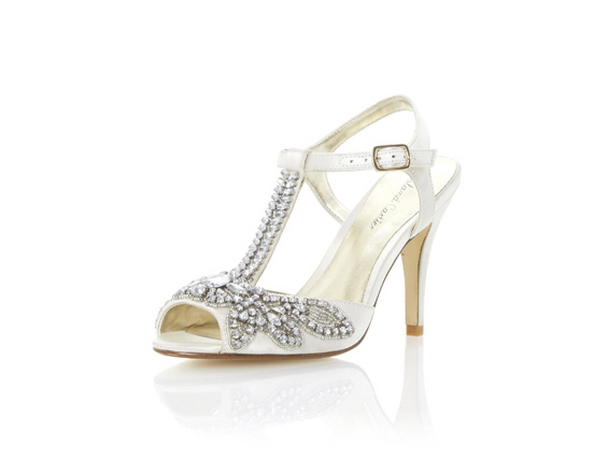 213b5023fb3 Roland Cartier Ladies MONTORI - Embellished Jewel Heeled Sandal - ivory