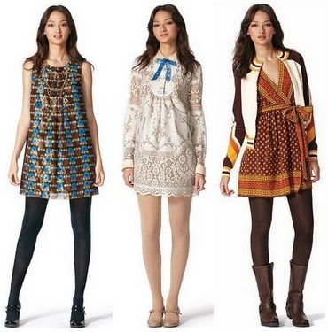 Vintage Inspired Clothing Older Ideas Made Modern Same Fabrics Different Looks Bold Pieces And Colors Together Can Still Have A Sense Of