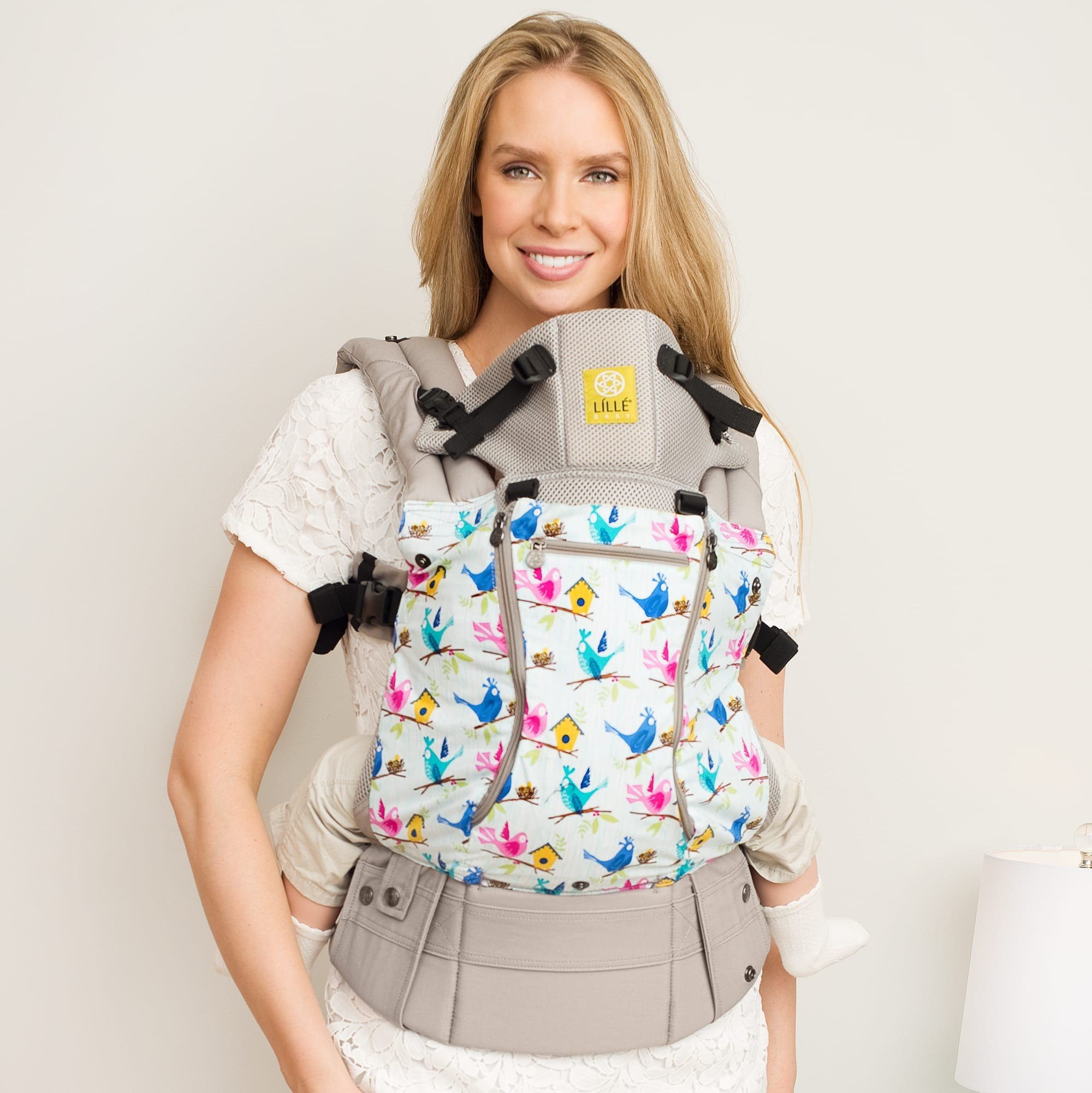 Tweet Heart All Seasons 6 Position Baby Carrier Complete By
