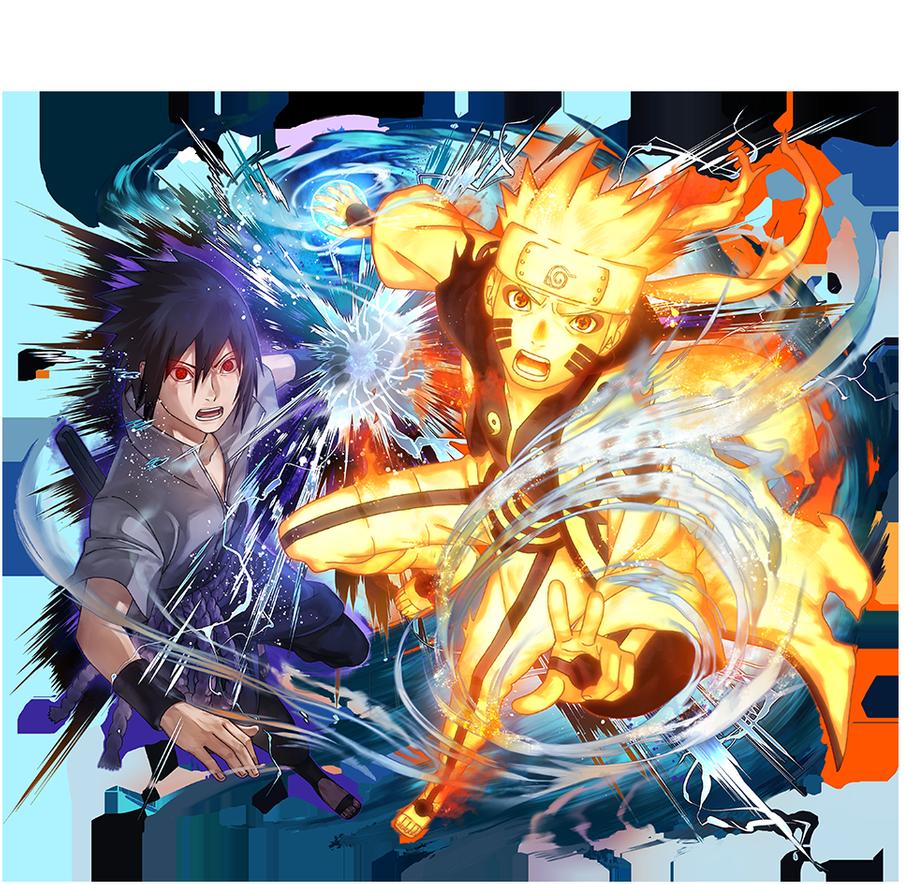 Naruto Uzumaki [Sasuke Uchiha] Naruto Blazing by
