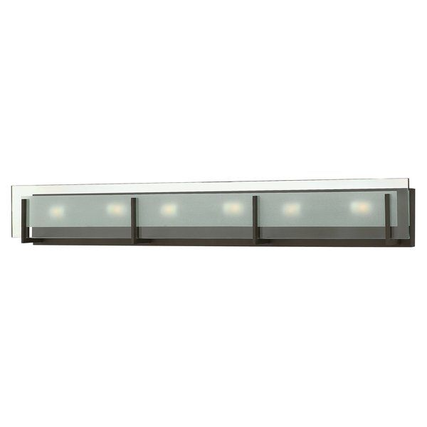 Photo of Latitude 6-Light Dimmable Bath Bar