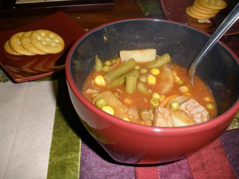 Vegetable Beef Soup « Crockpot Tuesdays