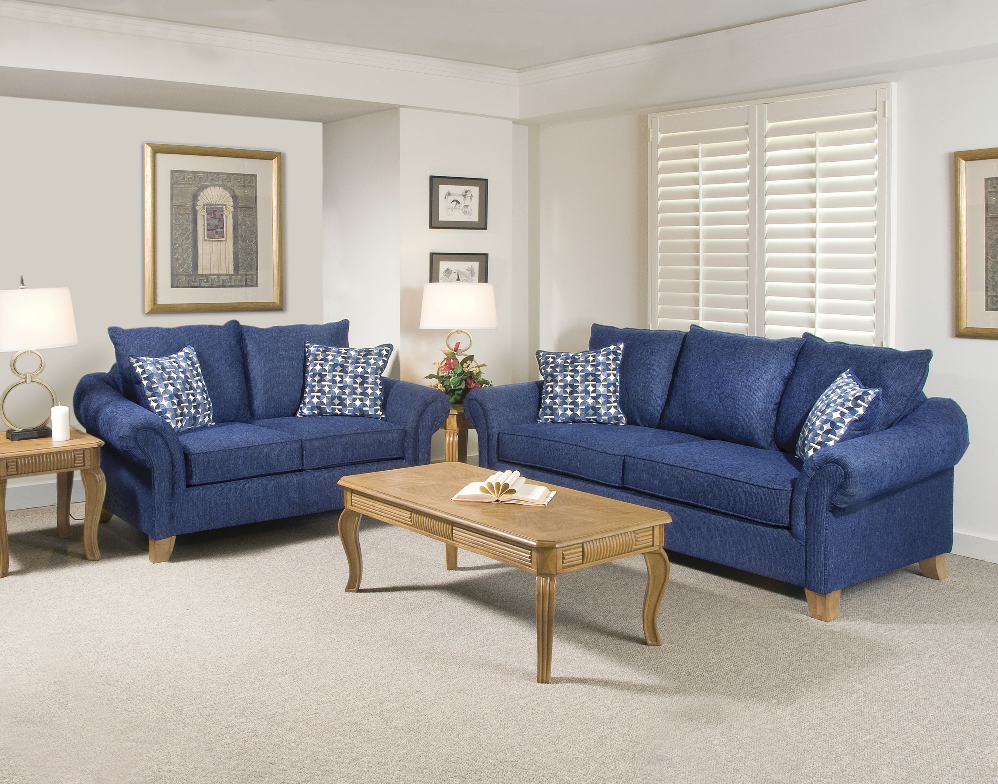 blue sofas living room paints - Navy Blue And Yellow Living Room Ideas