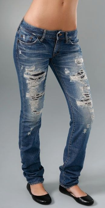 1000  images about Making ripped jeans on Pinterest | How to make