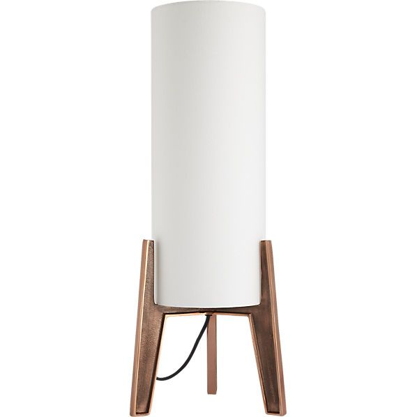 CB2 pyra table lamp $119.00 retro rays. Shining bright with midcentury  vibes, metallic light - CB2 Pyra Table Lamp $119.00 Retro Rays. Shining Bright With