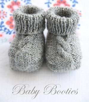Photo of Baby Booties Knitting Patterns
