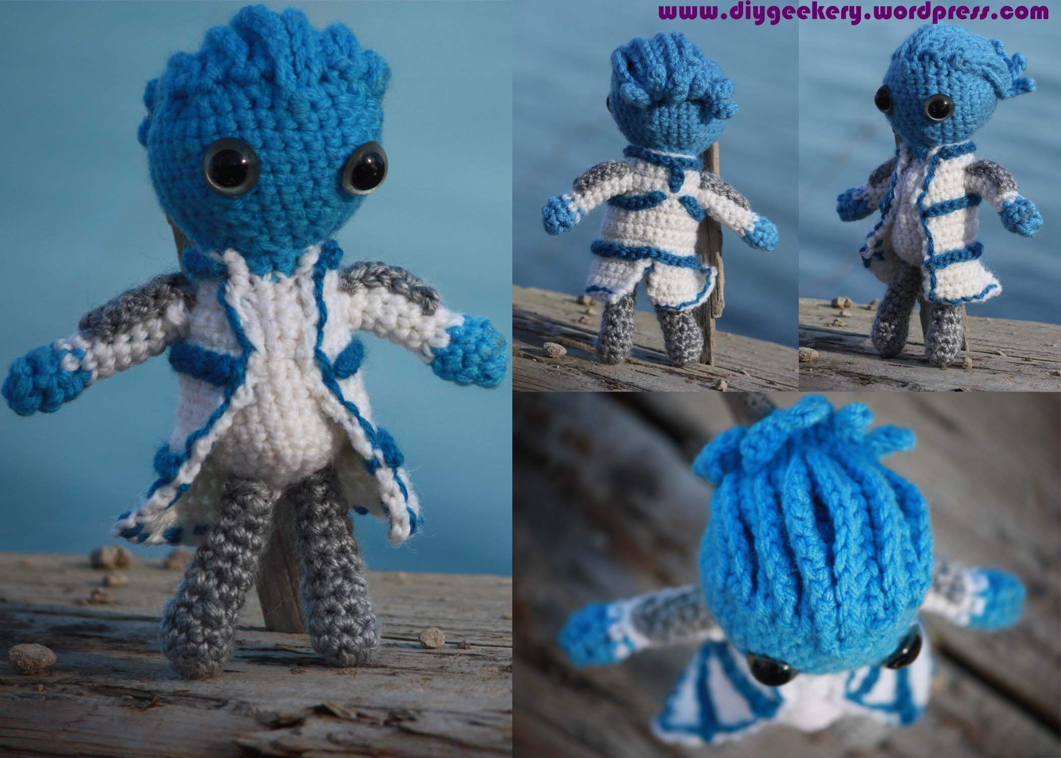 Crochet Amigurumi Patterns : Mass effect liara amigurumi amigurumi patterns and craft