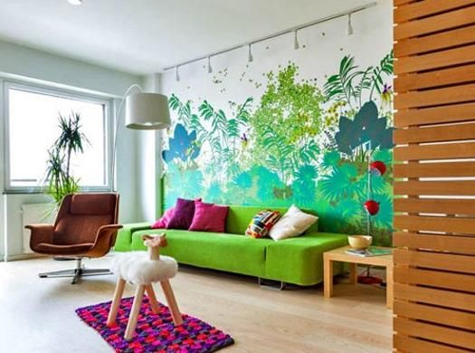22 Creative Wall Painting Ideas And Modern Painting Techniques Part 11