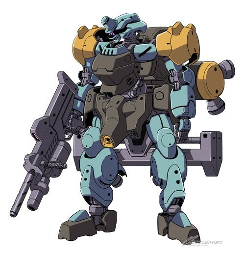 "IBO's new ""Spinner Rodi"" mobile suit revealed! | GUNDAM.INFO | The official Gundam news and video portal"