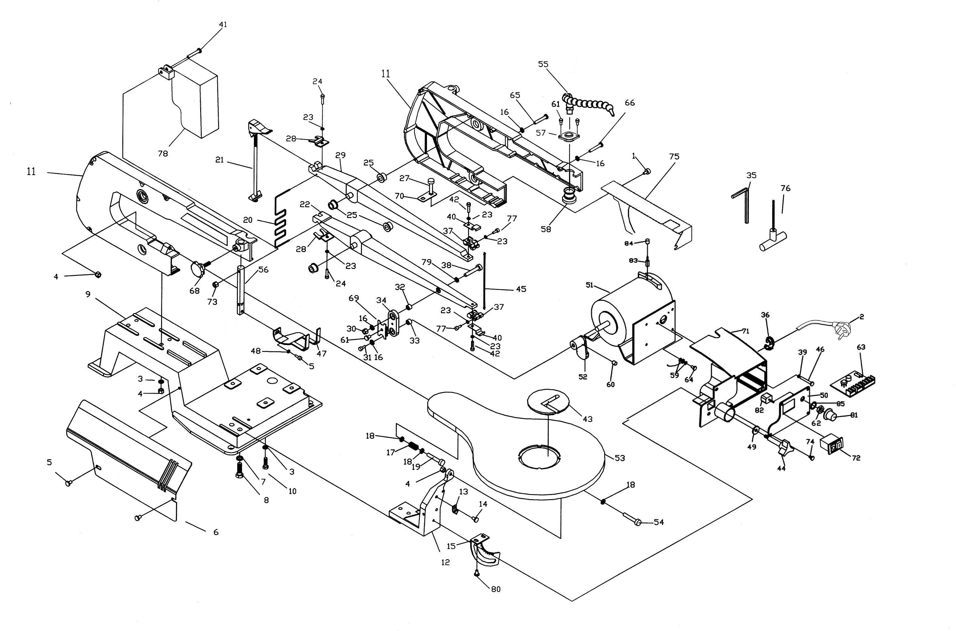 Sip 16 Scroll Saw Diagram