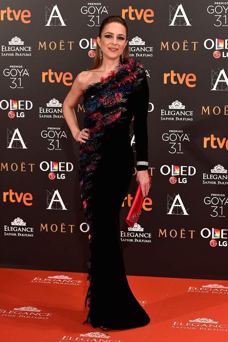 Goya Awards 2017: Silvia Abascal in Armani Privé