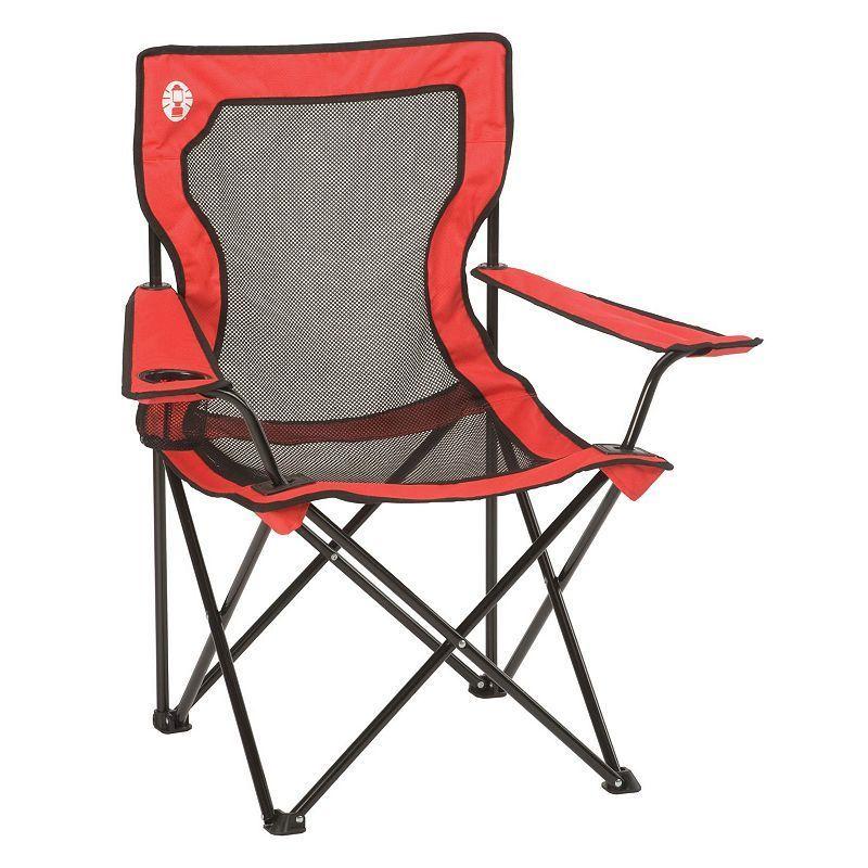 Coleman Broadband Mesh Quad Chair Outdoor Folding Chairs