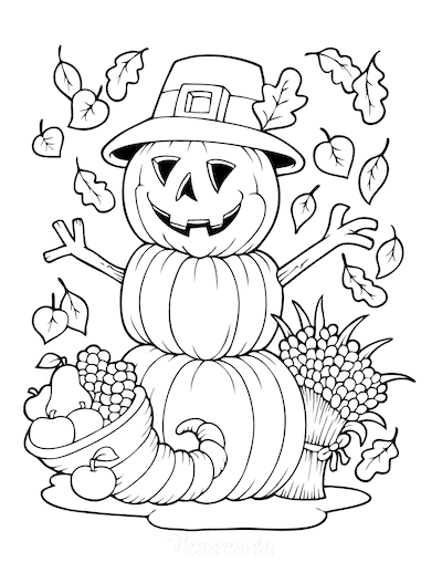 85 Pumpkin Coloring Pages For Kids Adults Free Printables Halloween Coloring Book Free Thanksgiving Coloring Pages Fall Coloring Pages