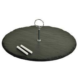 Selva Round Slate Server