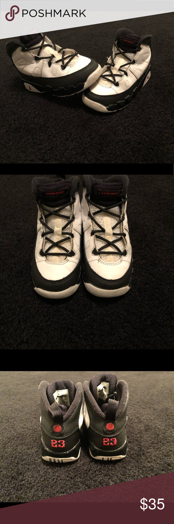 fc859e992efee1 Nike Air Jordan Retro 9 Toddler Size 9C Shoes Nike Air Jordan Retro 9  Toddler Size