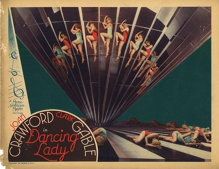 Lobby Card from the film Dancing Lady