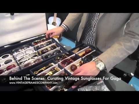▶ Vintage Frames Company x Lady Gaga Vintage Sunglasses Appointment - YouTube