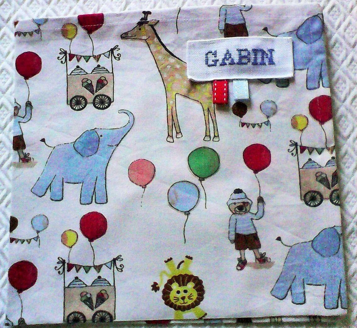 serviette de table enfant no 30,personnalisable , coton représentant des…