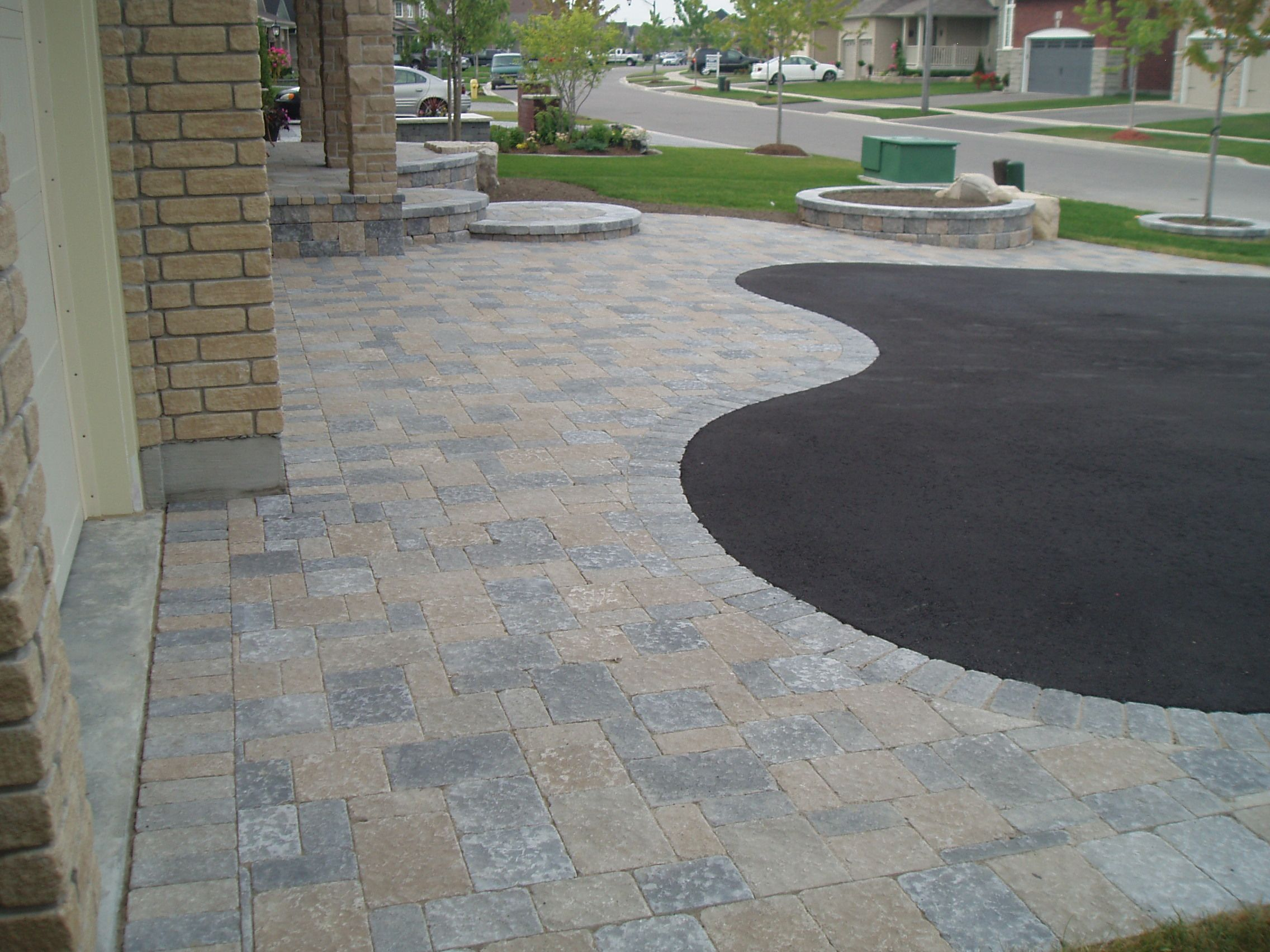 driveway finishes for in front of garage | Big or small ...