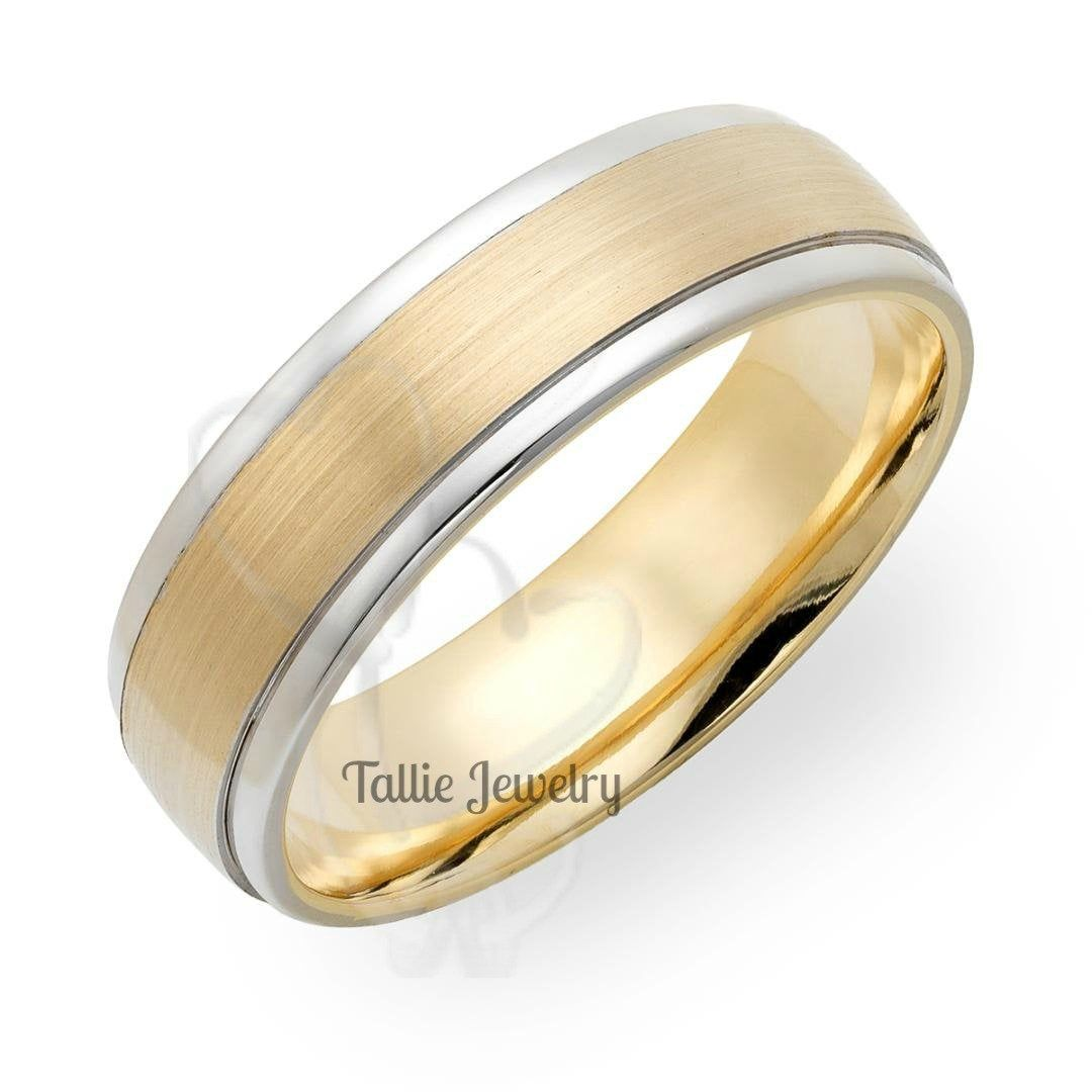 Mens Wedding Band 5mm Half Round 10k Recycled Yellow Gold Etsy In 2020 Rose Gold Wedding Band Sets Mens Wedding Bands Yellow Gold Wedding Ring
