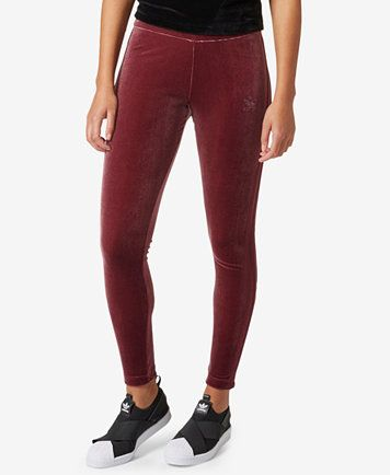 86c48b70631 adidas Originals Velvet Vibe Leggings | macys.com | Outfits | Adidas ...
