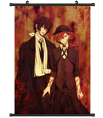 Details about Bungou Stray Dogs Anime HD Canvas Print Wall ...